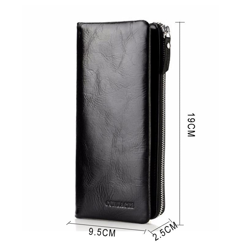 New Classical Genuine Leather Long Wallets