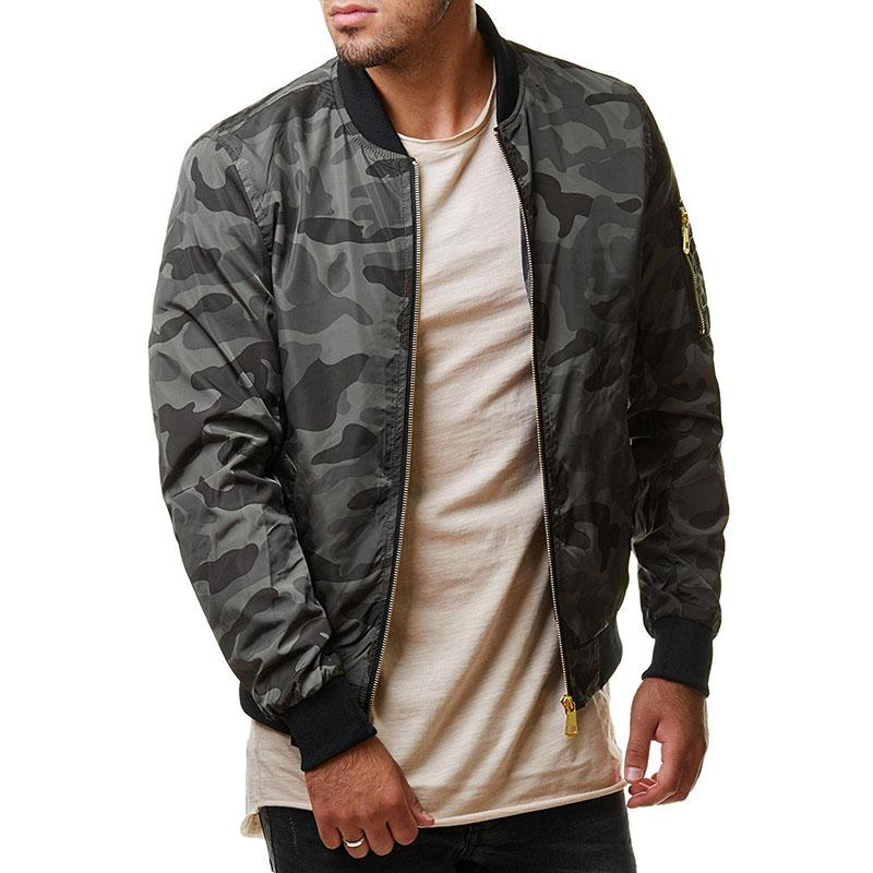 KazaMart Men Jacket-MJ4727-gray