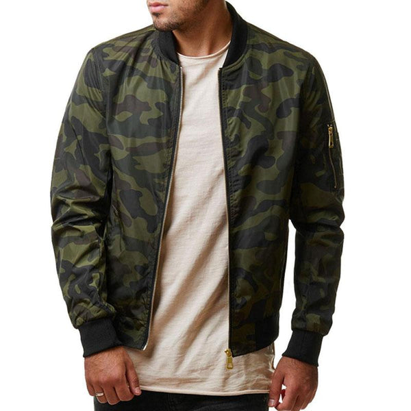 KazaMart Men Jacket-MJ4727-green