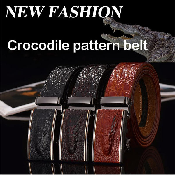 Hot Sale Genuine Leather Crocodile belts