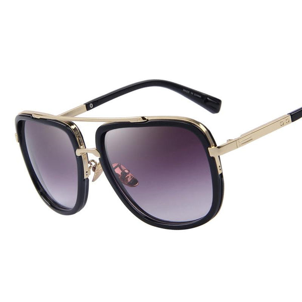 Classic Metal Square Sunglasses