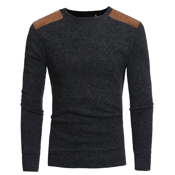 Men Knitted Casual Pullover