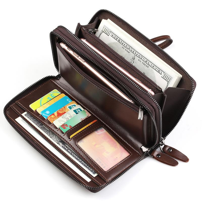 New Business Clutch Coin Purse Casual Wallets