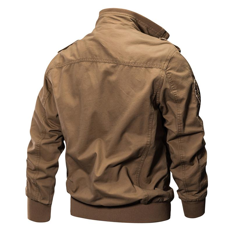 KazaMart Men Jacket-MJ0551-back