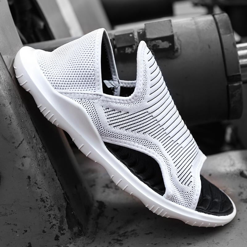 Men Breathable Elasticity Sandals Shoes