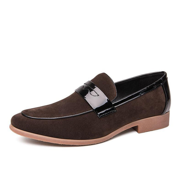 Men's Classic Simple Fringed Suede Leather Shoes