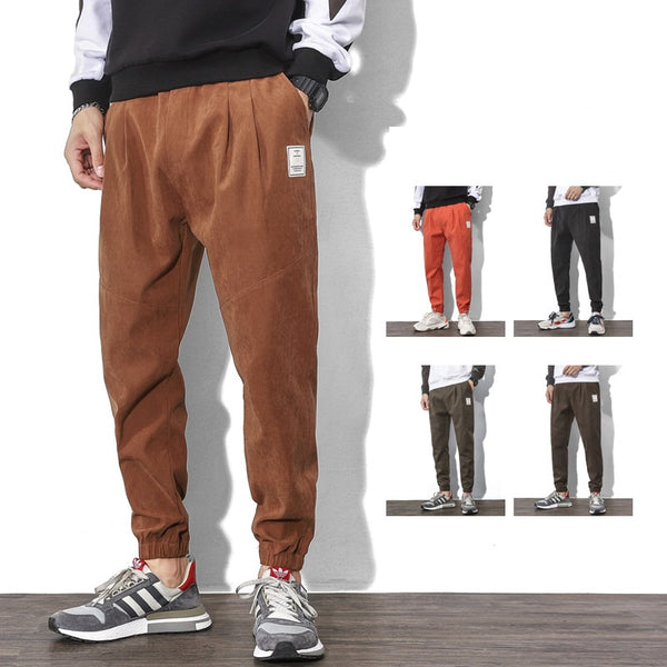 Loose Binding Feet Sports Long Pants