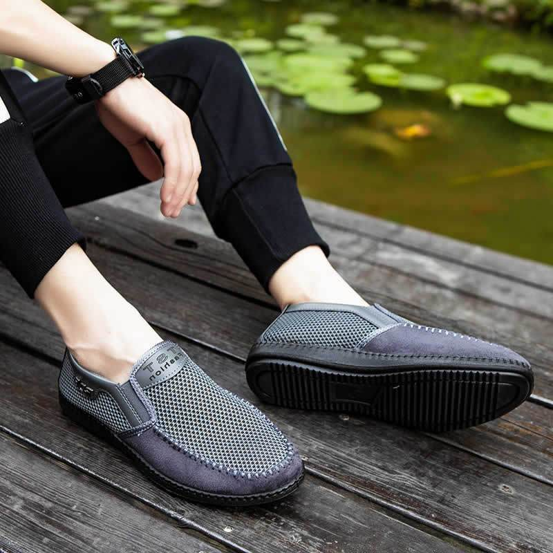 Summer Mesh Lightweight Old Beijing Casual Cloth Shoes