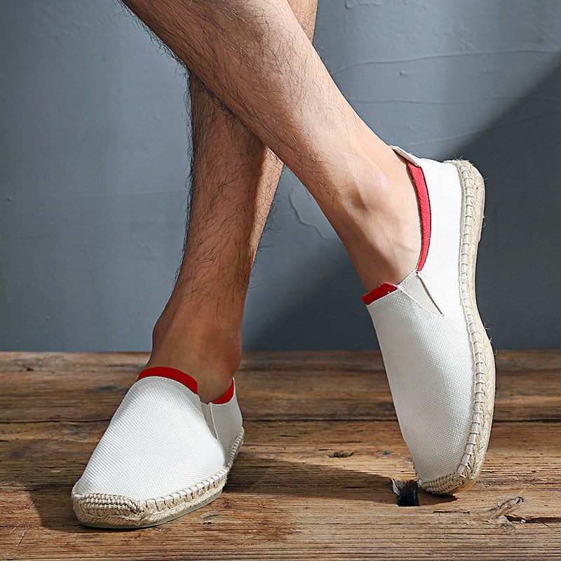 Flat Lazy Slip-on Canvas Shoes
