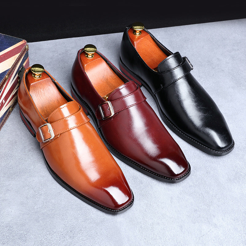 British Fashion Comfortable Men's Leather Shoes