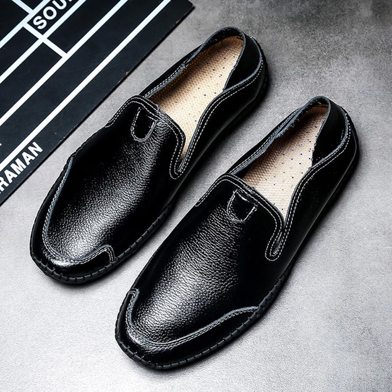 Men Casual Soft Leather Loafers