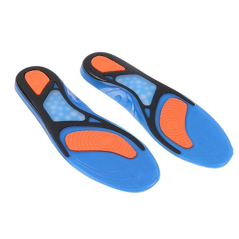 Elastic shock absorber soft arch support sports insole