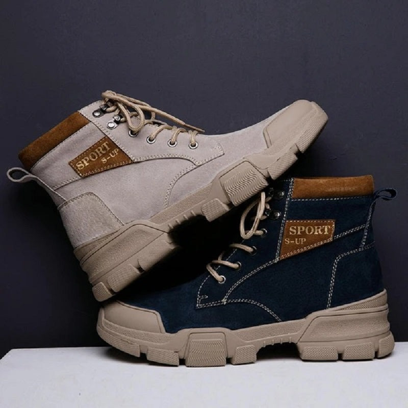 Patchwork Casual Fashion Ankle Boots