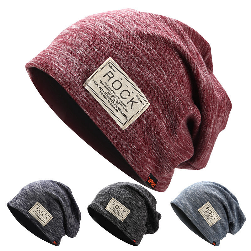 Fashion Solid Color Slouchy Hat