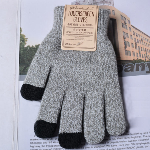 Unisex Warm Touch Screen Casual Gloves
