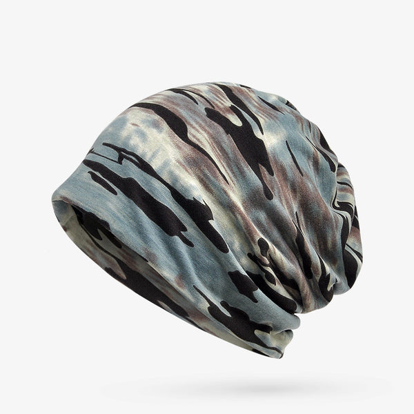 Outdoor Cotton Wild Camouflage Pullover Hat