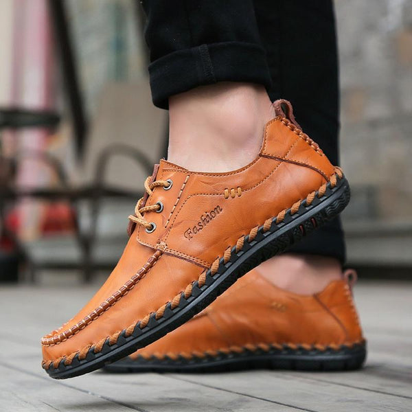 Men's Casual British Breathable Beanie Shoes