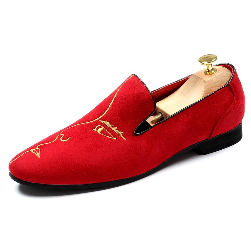 Men's Soft Sole Pointed Toe Non-slip Loafers