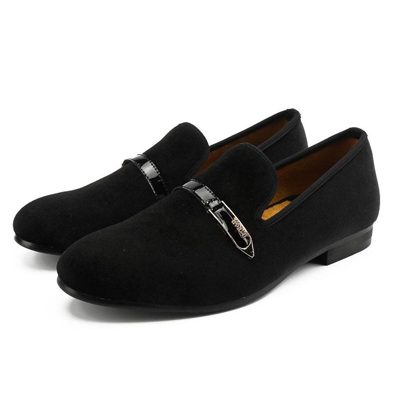New Fashion Breathable Velvet Loafers