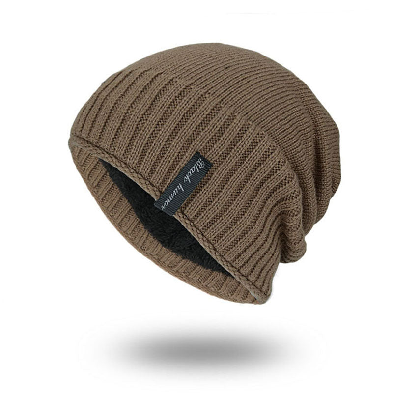 Solid Knitted Skullies Beanie Warm Outdoor Casual Cap