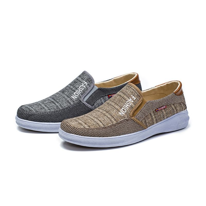 Men's Soft Bottom Breathable Fly Knit Shoes