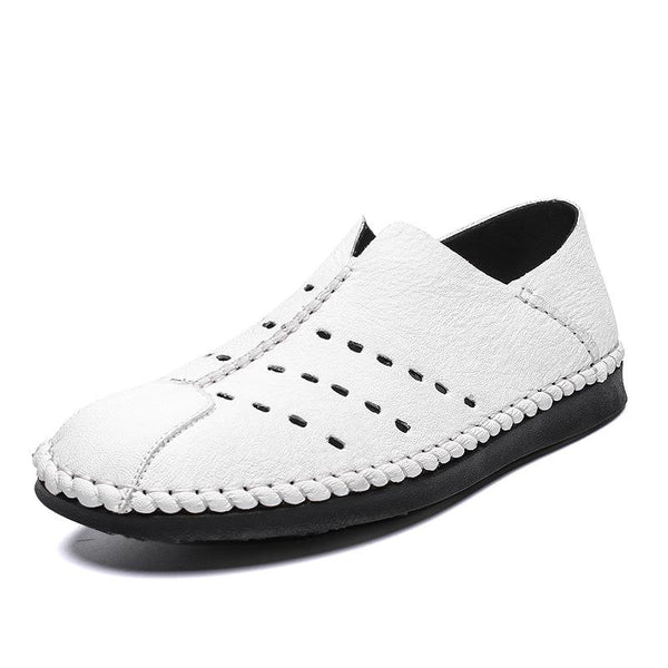 Spring New Casual Breathable Handmade Shoes