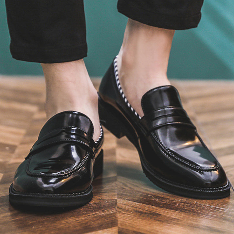 Solid Slip on Casual Formal loafers