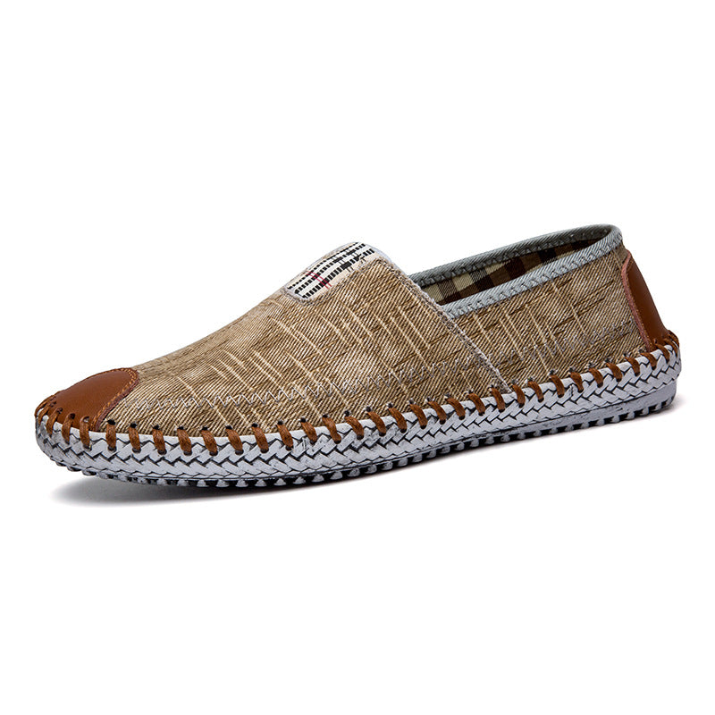 New Trendy Comfortable Linen Lazy Shoes