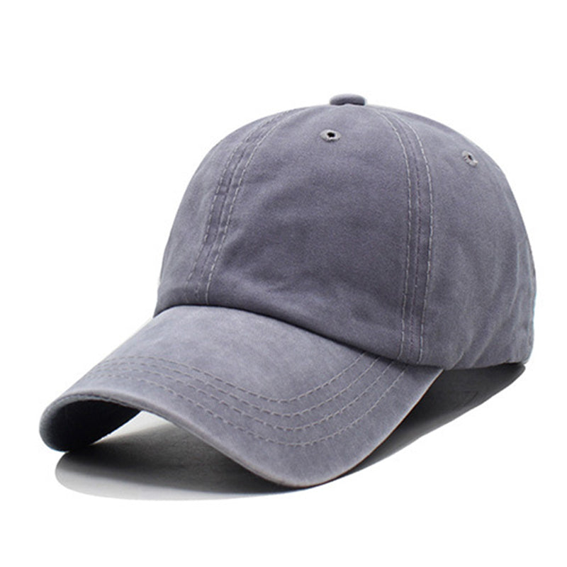 Stitching Color Breathable Adjustable Unisex Caps