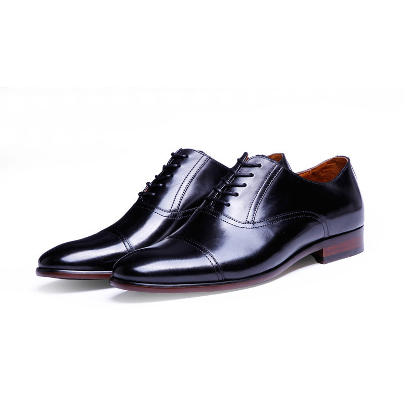 Men's Classic Pointed Toe Oxfords Shoes