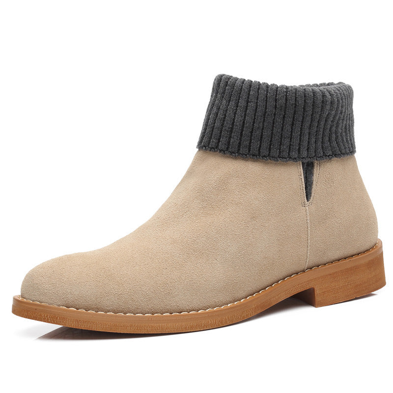 Men's British Pointed Martin Boots