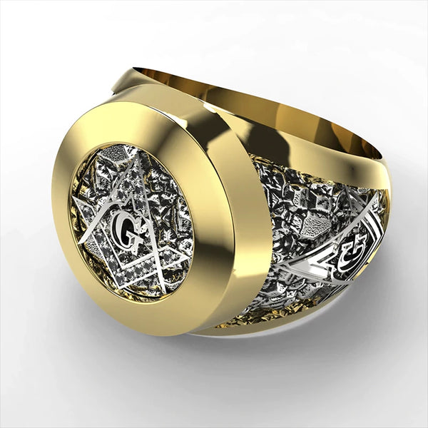 The Great Architect Symbol Ring