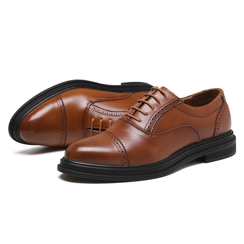 Men's British Carved Luxury Vintage Brogue Shoes