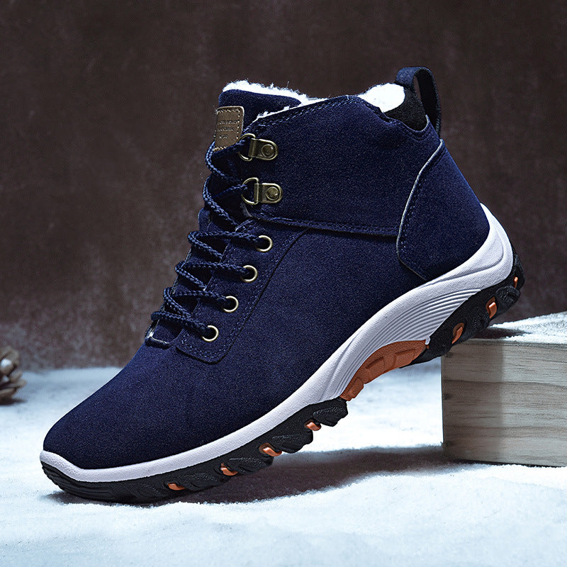 Plus Velvet Men's Warm Snow Boots