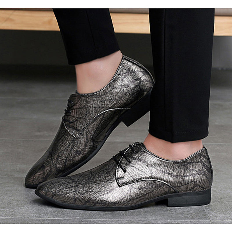 Korean Style Pointed Toe Comfortable Leather Shoes