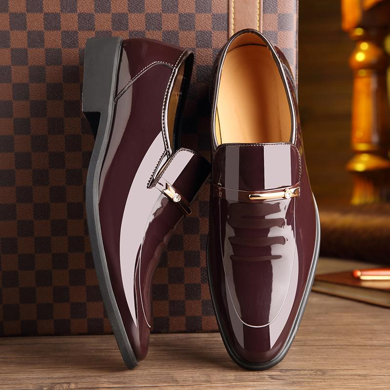 Men Dress Pointed Toe Shoes