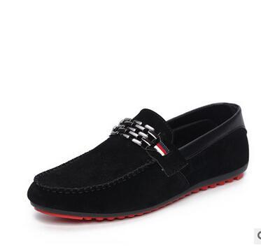 Men Black Trendy  Loafers