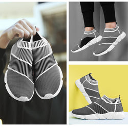 Men Socks Sneakers Beathable Mesh Shoes