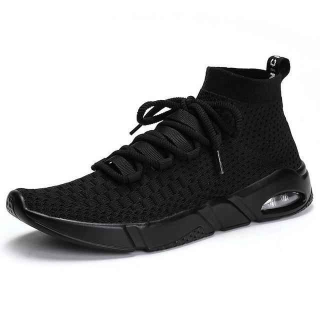 Men's Lightweight Woven Zoom Sole Athletic Shoes