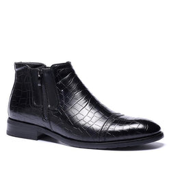 39-48 brand men boots Z6 Top quality handsome comfortable Retro leather spring boots #R5283-1