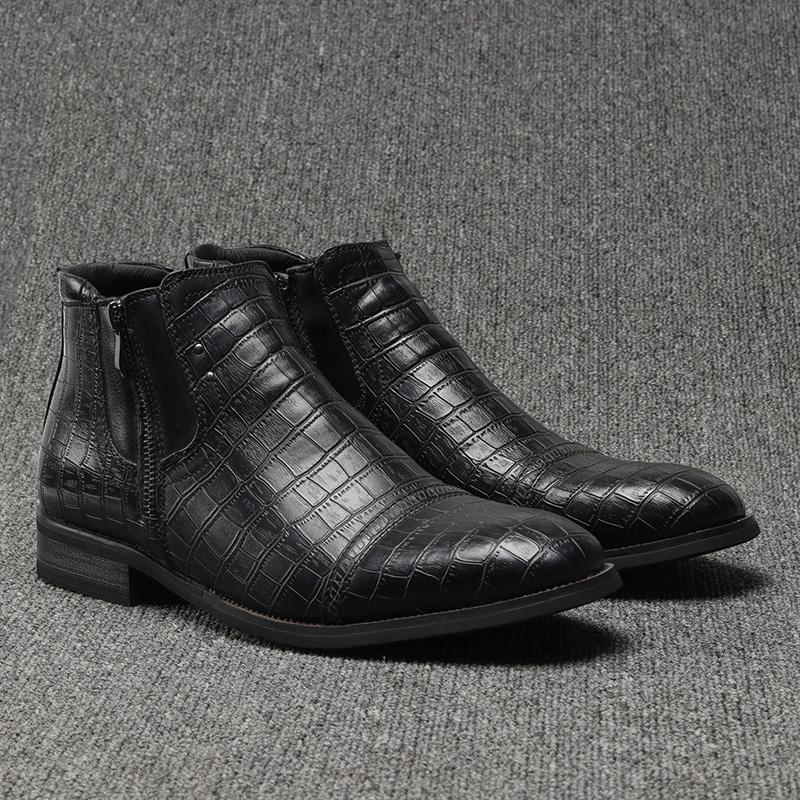 Men Comfortable Retro Boots