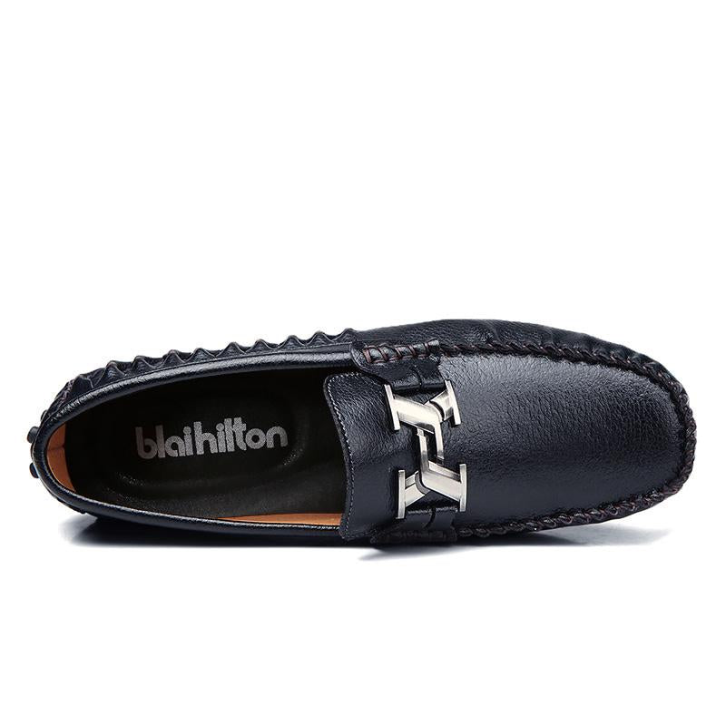 Men Moccasins Genuine Leather Loafers