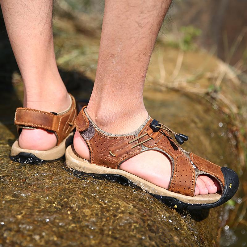 Men's Toe Protection Soft Water Sandals