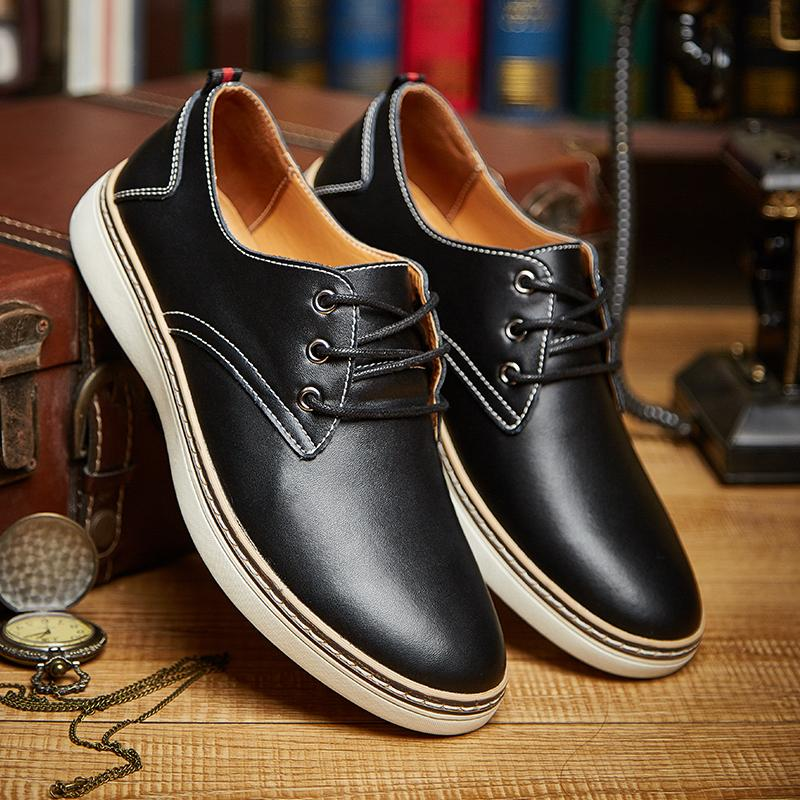 Men's Leather Business Shoes
