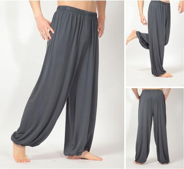 Loose Yoga Men's Pyjama Bloomers Pants