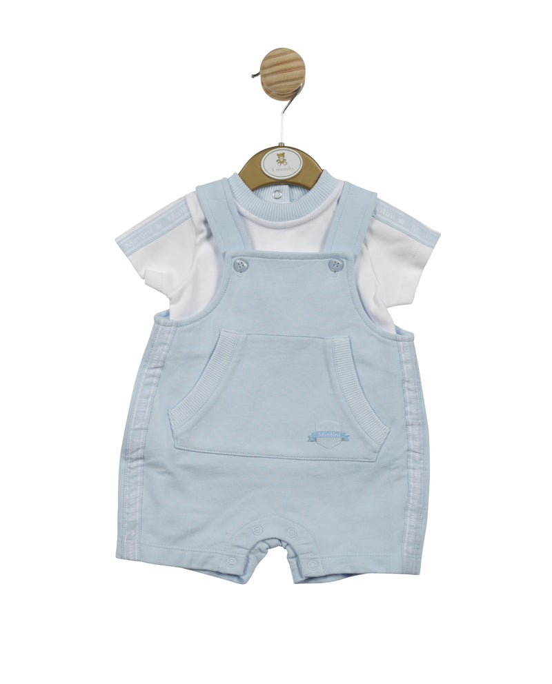 MB4564A - Delivery February | Top & Short Dungaree