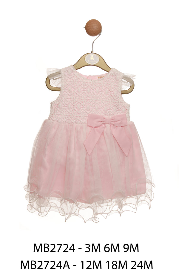 MB2724 | Girls Pink Dress