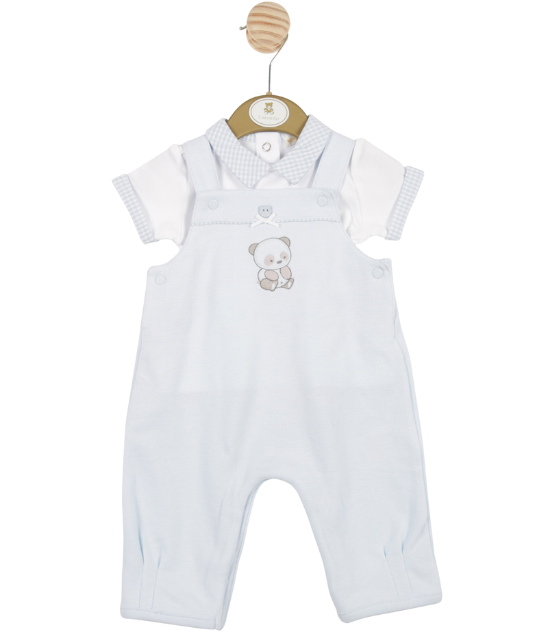 MB3231A |  Boys Top and Dungaree Set with Bear Theme