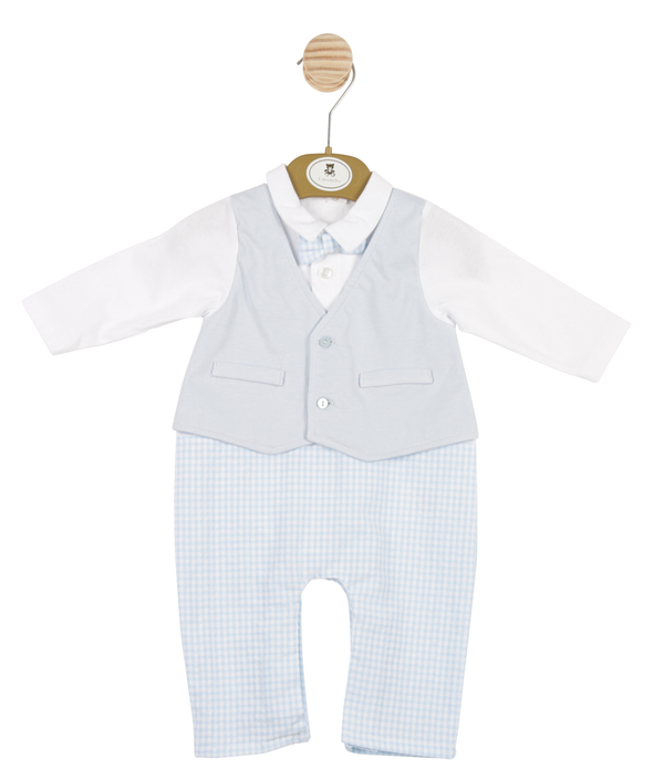 MB3364 | Boys All-in-one in a Vest, Shirt and Trousers Style