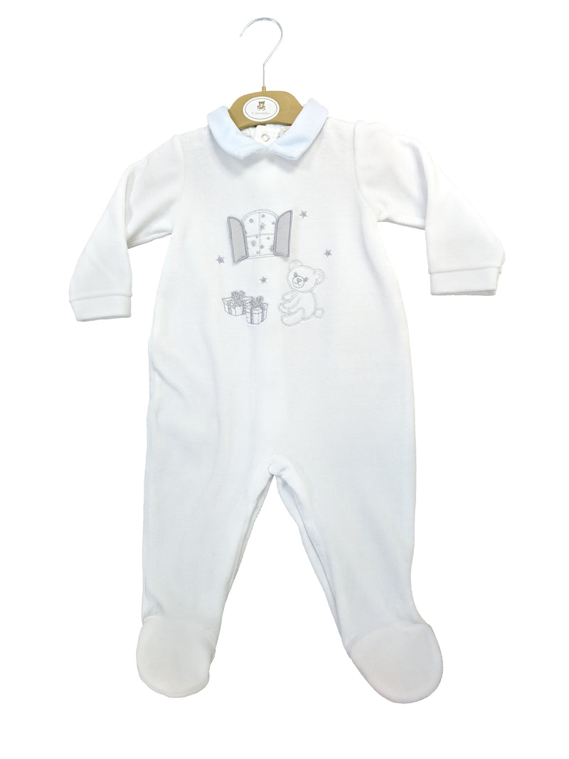 MB3439 | Mintini Baby Boys Blue All-in-One